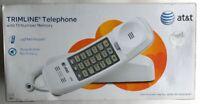 AT&T TRIMLINE Telephone 210 White Corded Phone in Original Box