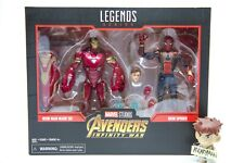 *NEW* Iron Man Mark 50 & Iron Spider 2-Pack Marvel Legends MCU Avengers Infinity