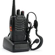 Pofung BF-888S UHF 400-470 MHz Handheld Walkie Talkie 2-way Amature Ham Radio IM