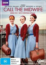 Call The Midwife - Season / Series 5 + Christmas Special DVD R4 Brand New!