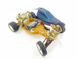 Team Associated RC10 Gold Pan 1/10 2wd RC Buggy Roller Rolling Chassis w/ Motor