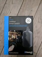 Ge Bluetooth Plug-in Outdoor Smart Switch - black (Model 13868) - New