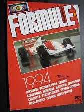 Book Formule 1 1994 door Anjes Verhey