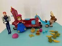 Disney - FROZEN - Polly Pocket Mini Anna Playset