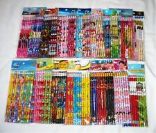 180 pcs Disney & Cartoon Character Licensed Pencil Wholesale School Party Supply