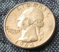 "1/4 Dollaro ""Liberty"" - WASHINGTON  - USA argento 1964 BB-  nr 623"