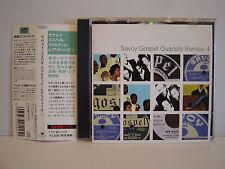 SAVOY GOSPEL QUARTETS RARITIES VOL.4 JAPAN P-VINE OBI CD
