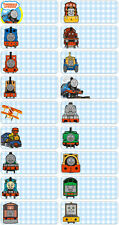 Clearance Sale - 60 Thomas and Friends pics personalised name label (Large Size)