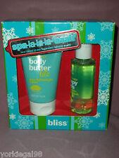 BLISS Spa La-La-La-Aaaah Lemon + Sage Boxed Gift Set