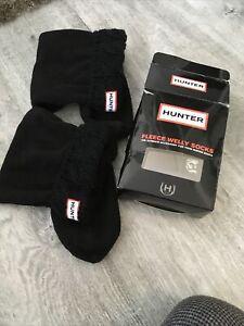 Hunter Black Socks Size UK 13 -2