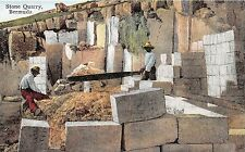Bermuda postcard Stone Quarry