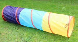 Spieltunnel Kriechtunnel Baby Krabbeltunnel Pop-Up Zelt 180 cm Tunnel Spielzelt