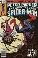 The Spectacular Spider-Man #37 VF 1979 Marvel vs Swarm Comic Book
