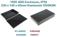 1599 ABS Enclosure, IP54 220 x 140 x 40mm Hammond 1599KBK