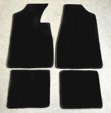 Fußmatten Autoteppiche für Lancia Delta 2 schwarz 1993-1999 Velour 4tlg Neuware
