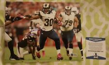Todd Gurley signed Los Angeles Rams 8x10 photo Beckett / BAS #C75145