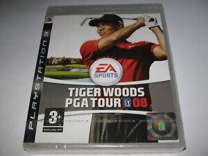 TIGER WOODS : PGA TOUR 08 (2007) PS3 NEW/SEALED REGION 2 (EUROPE) COMPUTER GAME