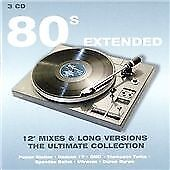 """Various Artists - 80's Extended 12"""" Mix (3 CD BOX SET)  NEW AND SEALED"""