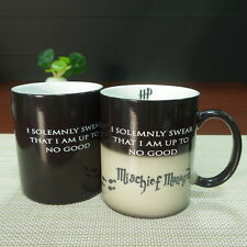 Harry Potter Mug Heat Sensitive Color Changing Cup I Solemnly Mischief Man !