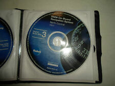 2001.2 BMW a Bordo Sistema di Navigazione CD North Central Digitale Road Mappa 3