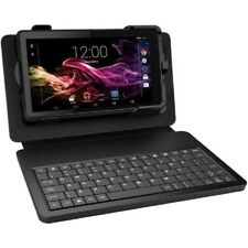 """RCA Voyager 7"""" Tablet 8GB Quad Core with Keyboard Case bundle,Charcoal Gray*New*"""