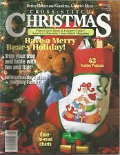 Cross Stitch Christmas - Better Homes and Gardens - Christmas 1991