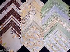 12x12 Scrapbook Paper Studio Cardstock Little Safari Zoo Animals Baby Nursery 40