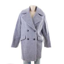 SOMEDAY Wollmantel Mantel Coat VIENNA SQ2 Wolle Wool Grau Melange Gr. M 38