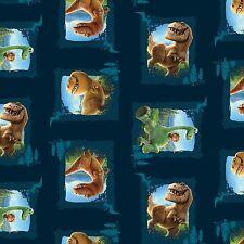 Fat Quarter Disney The Good Dinosaur Scenic Patches 100% Cotton Quilting Fabric