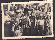 115888 Portrait Foto Polen 1939 Zigeuner Kinder Tracht Wehrmacht WK2 WW2