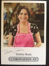 Coronation Street Pre Printed Signed Debbie Rush