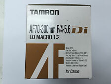 Tamron AF 70-300mm f/4-5.6 Di LD Macro 1:2 A17E for Canon EOS EF EF-S Mount