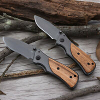 POCKET KNIFE MINI Stainless Blade Knives Fold Key Ring Chain Camping