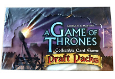 A Game of Thrones Draft Pack Booster Box CCG TCG - 27 Packs FREE SHIPPING