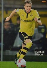 MARCO REUS - A3 Poster (ca. 42 x 28 cm) - Fußball Clippings Fan Sammlung NEU