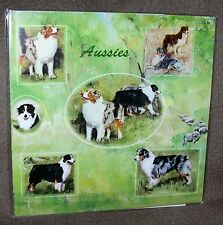 AUSTRALIAN SHEPHERD  Gift Wrapping Paper w/matching Gift Cards by Maystead
