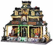 Lemax 45665 DESTINY TERMINAL Spooky Town Building Sights & Sounds Halloween I