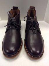 Cole Haan Charles Chukka II T Moro Brown Leather Boots Men 11.5 $228 NIB C12270