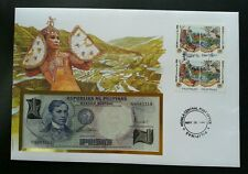 Philippines ASEAN Environment Year 1996 Dance FDC (banknote cover) *rare