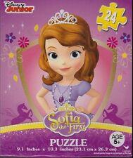 Brand New Disney Junior Sofia The First Jigsaw Puzzle 24 piece 9.1 X 10.3 inch I