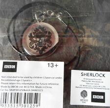 SHERLOCK Skull Head Pendant NEW OFFICIAL BBC Collectable/Benedict Cumberbatch