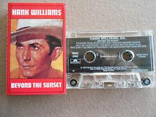 Hank Williams, Sr - Beyond the Sunset - Cassette Tape VG+ Copy $4.25