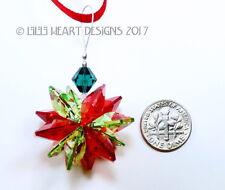 Christmas Tree Ornament or Suncatcher m/w Swarovski Crystal Lilli Heart Designs
