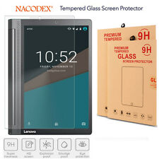 "Nacodex HD Tempered Glass Screen Protector For 10.1"" Lenovo Yoga Tab 3 Plus"