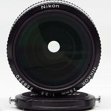 Nikon Nikkor 28mm 1:3,5 Pre AI w/hood - Excellent vintage condition