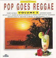 Pop goes Reggae 2 (1991, Polystar) UB 40, Third World, Johnny Nash, Rita .. [CD]