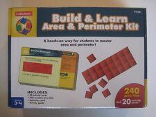 BRAND NEW SEALED Lakeshore Build & Learn Area & Perimeter Kit - Item TT566