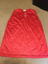 NWOT MENS TEAM WORK RED ATHLETIC APPAREL SHIRT SIZE L LARGE