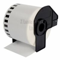 Brother Compatible Labels Rolls DK22205 62mmx30.48m Continuous Per Roll