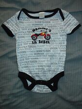 Baby Gear Boys 3-6 M Snap Bottom (Mommy's Lil Rebel)